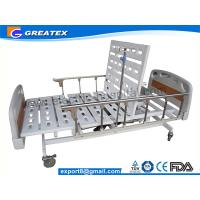 Wholesale 5 Function Adjustable ICU Hospital Beds With 10-part Bedboard , Al-alloy Side Rails (GT-BE1004) from china suppliers