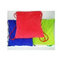 Wholesale Multi purpose Microfiber Drawstring Beach Towel Bag , Colorful Folding Beach Towel Bag from china suppliers
