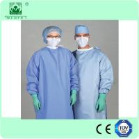 Wholesale Top quality factory price Disposable nonwoven surgical gown for hospital from china suppliers