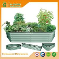 Quality Different Size Ivory Color Easy Assembly 4 Shapes Raise Garden Bed for sale
