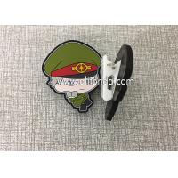 China Custom paper clips file clips with handsome cool soldier fireman police shape design cute dog shape for kids children on sale