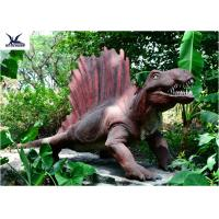 Wholesale Forest Full Size Amusement Realistic Dinosaur Statues Animatronic Robot Dinosaurs from china suppliers