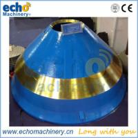 Quality high manganes Nordberg cone crusher spares mantle and bowl liner for sale
