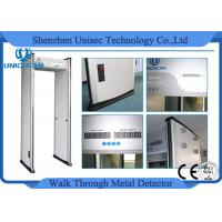 Wholesale Multi Zone Metal Detector Body Scanner / Walk-Through Metal Detector Gate from china suppliers