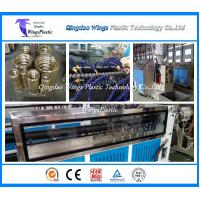 Wholesale Plastic Cable Protecting Pipe Extrusion Line / PE Carbon Cable Pipe Making Machine from china suppliers