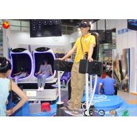 Wholesale Professional Standing Up 9D VR Standing Roller Coaster 9D Cinema Simulator from china suppliers