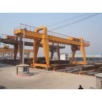Wholesale 120t Double Beam Manual Travelling Gantry Crane from china suppliers