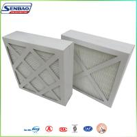 Wholesale Home Panel Pleated Furnace Carbon Air Filter MERV11 MERV12 Standard from china suppliers