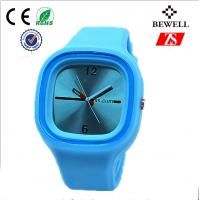 Wholesale Promotional Gift Blue Rubber Silicone Jelly Watch For Children / Kids from china suppliers