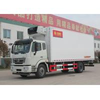 Wholesale SINOTRUK HOHAN Professional Refrigerated Truck 16 Tons 20 - 25CBM Euro 2 266HP 4X2 from china suppliers