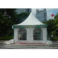 Wholesale Outside White Durable High Peak Tents , 4M X 4M Aluminum Structure Tent from china suppliers