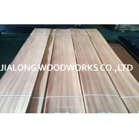 Wholesale Sapelli Quarter Sliced Veneer Natural Wood Face Veneer for Interior Decoration from china suppliers