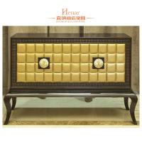 Wholesale Brack Antique Wooden Consoles For Home lobby / Corridor OEM from china suppliers