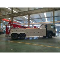 Wholesale 371 horsepower 3 sections boom 70 tons wrecker tow truck 6x4 Wheels from china suppliers