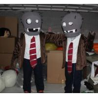 Wholesale custom adult plush zombie mascot costumes for entertainment  from china suppliers