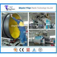 Buy cheap PE Winding Corrugated Pipe Production Line / Krah Forming Pipe Manufacturing Machine from wholesalers