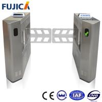 Wholesale Indoor Intelligent Swing Barrier Gate , Drop Arm Turnstile Security Systems from china suppliers