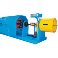Vertical High Speed Cable Stranding Machine For Wire Core Stranding / Synchronously Packing