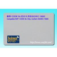 Wholesale Compatible with I CODE SLI Chip Card, Conform ISO/IEC 15693 protocol from china suppliers
