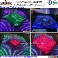 Wholesale Christmas Party LED Star Curtain Indoor DMX LED Backdrop For Stage Effect from china suppliers