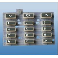 Wholesale Special Silicone Rubber keypad for Industrial Equipment Light Weight from china suppliers