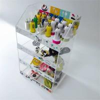 Wholesale 4 tier clear counter top cabinet acrylic cell phone accessory display stand manufacturing from china suppliers