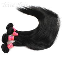 Wholesale Malaysian Straight 6A Virgin  Hair extensions No tangling No shedding from china suppliers
