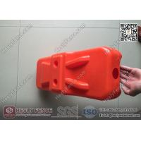 Wholesale Orange Color Blow Moulded Plastic Feet for Temporary Fence | China Supplier from china suppliers