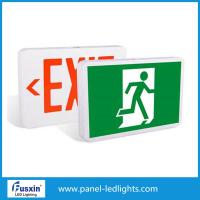 Wholesale Emergency Exit Lamps Led Emergency Light Rechargeable Rigid Aluminum Housing Material from china suppliers