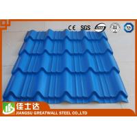Quality SGCC DX51D Hot Dipped ZINC ALUME / GALVALUME Galvanized colored Corrugated Steel Sheets for sale
