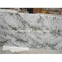 Quality China Multicolor Green Granite Semi-Slab, Natural Green Granite Slab for sale