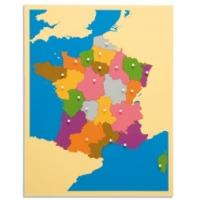 Quality Montessori Materials -Puzzle of France 57*45cm for sale