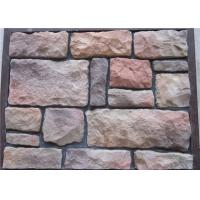 Durable Compressive Strength Artificial Wall Stone  For Wall Decorating Irregular Size