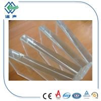 Wholesale Facades and curtain walls Ultra Clear Glass sheet with polished edge from china suppliers