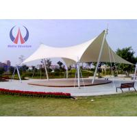Wholesale Strong Flexible Tensile Shade Structures Shade Sail Carport Saddle - Shaped from china suppliers