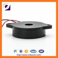 44mm Black ABS 10V Piezo Transducer Electronic  Passive Buzzer For Alarm