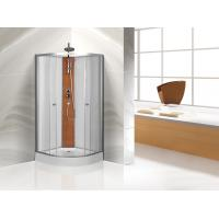 Wholesale Custom Quadrant Sliding Door Shower Cubicles , Curved Shower Glass Enclosure from china suppliers