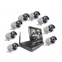 Wholesale 1.3MP WiFi IP Camera Kit 8 Camera Surveillance System P2P Cloud Service from china suppliers