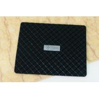 Wholesale Promotional Non Slip Phone Mat Black PVC Mats 41*29*12cm from china suppliers