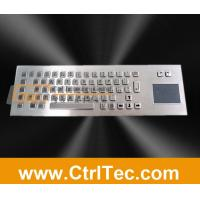 Wholesale metal keyboard with touch pad, trackpad from china suppliers