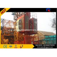 Wholesale Portable Construction Hoist Elevator Two Cage Mast Section 650*650*1508mm from china suppliers