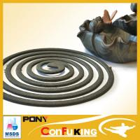 OEM different color 140mm size 8hours clean plant fiber mosquito coil