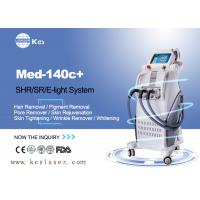 Quality Pains Free  SHR Hair Removal Devices , Skin Rejuvenation Machine Med-140c+ for sale