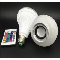 Wholesale Bluetooth Music E27 Intelligent Light Bulb With 24 Keys Remote Control Wireless Speaker from china suppliers