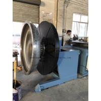 Wholesale Heavy Duty Rotary Welding Positioner with Rotating and Tilting Motor 2Ton at vertical position from china suppliers