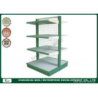 Wholesale Cold roller steel supermarket shelf display storage racks for shop , store from china suppliers
