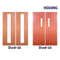 Wholesale 50mm Door Leaf Timber Composite Doors for Houses / Apartment from china suppliers