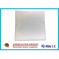 Wholesale 60~110 Gsm Dry Disposable Wipes , Hospital Dry Baby Wipes Strong Tensile Stretch from china suppliers