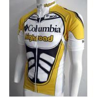 Wholesale Bikes Sportswear Custom Printed Cycling Jerseys Uniform with Heat Transfer Tops from china suppliers