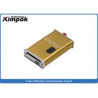 Wholesale Mini FPV 1.2Ghz wireless audio video transmitter and receiver 5-8 KM Range from china suppliers